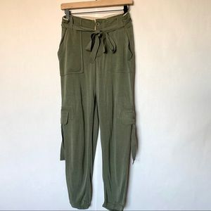 Free People utility joggers
